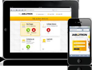 MyJablotron Web-Self-Service